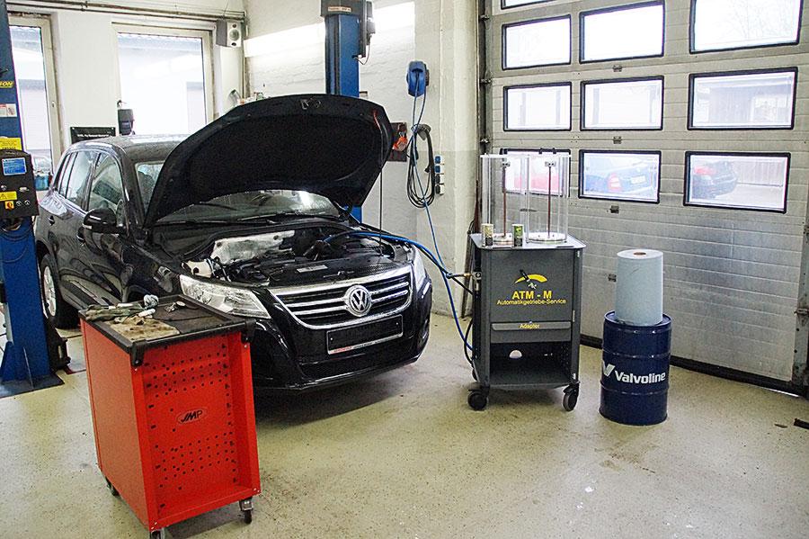 Ölwechsel beim Automatikgetriebe in Bad Oldesloe